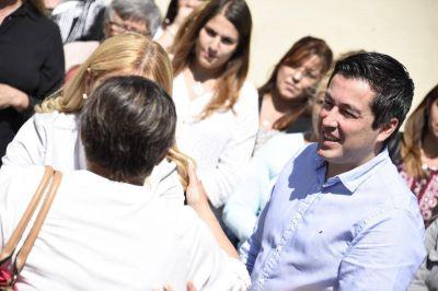 Nardini inauguró el Centro Integral para la Mujer