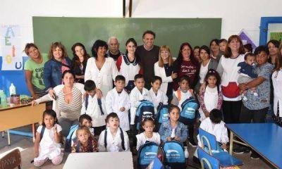 Más de 4 mil alumnos de San Martín de primer grado recibirán su kit escolar
