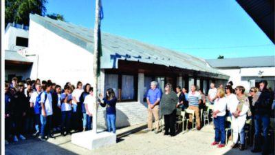 El Intendente compartió el inicio de clases en la Secundaria Municipal