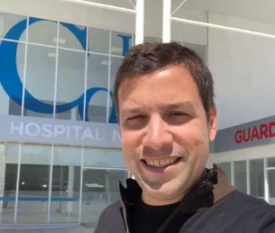 De Jesús anunció que en pocos días se inaugura el Hospital de Santa Teresita