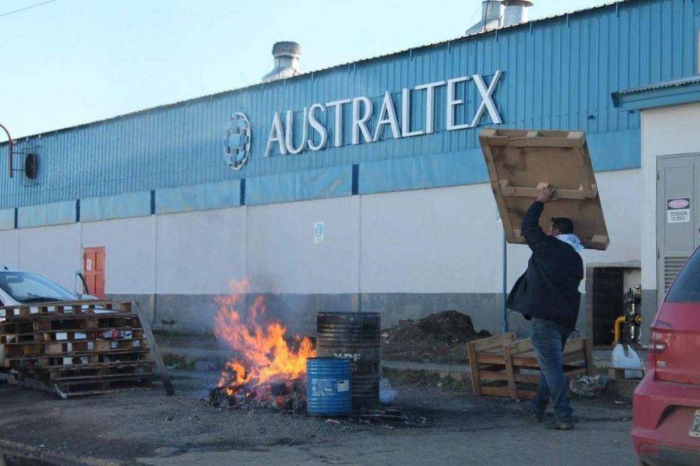 Australtex, otra vez en conflicto