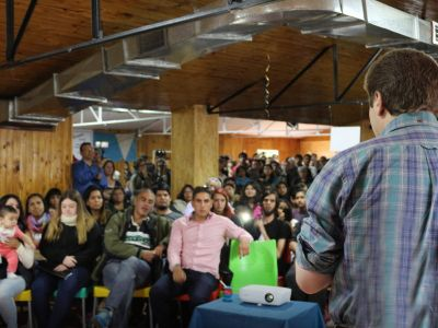 Melella encabezará un nuevo Encuentro Provincial de Jóvenes en Tolhuin