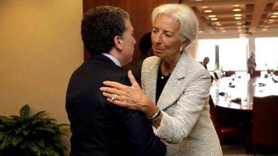 En medio de las presiones cambiarias, Nicolás Dujovne se reúne hoy con Christine Lagarde y la plana mayor del FMI