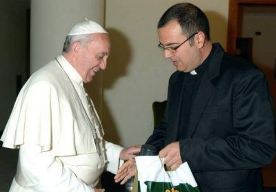 El Obispo pidió una oración por el 6° aniversario de la elección de Francisco
