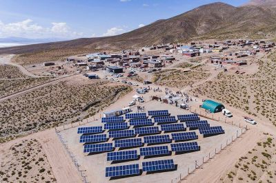 Energías alternativas. Primer pueblo solar de la Argentina