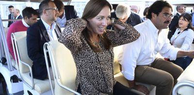 María Eugenia Vidal acelera la campaña en la Provincia y pide concentrarse en el voto propio