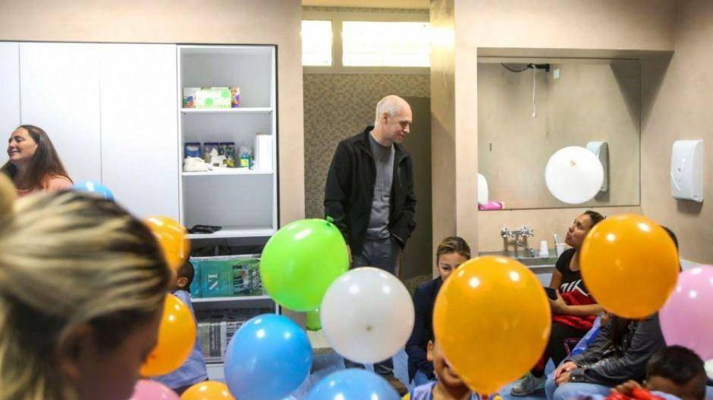 La Ciudad abrió una escuela en el Barrio Rodrigo Bueno