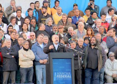 Yasky advirtió que del éxito de 4 de abril saldrá el paro nacional