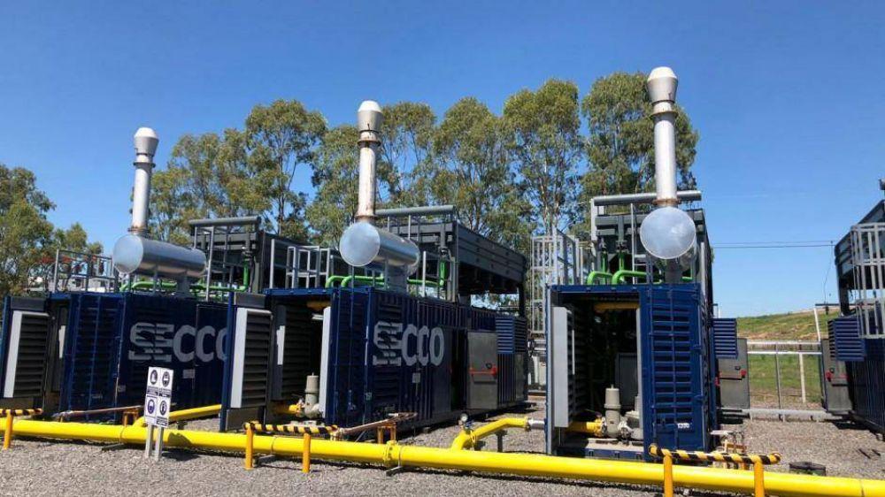 Ceamse inaugura una planta de biogás de 5 MW en el predio Ensenada