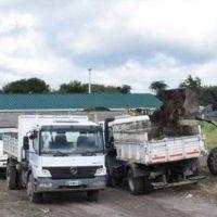 La Municipalidad de la Capital retiró 150 toneladas de basura de un sector del barrio Aeropuerto