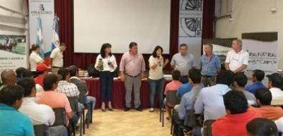 Capacitación a 280 trabajadores yerbateros y entrega de 80 libretas en Corrientes