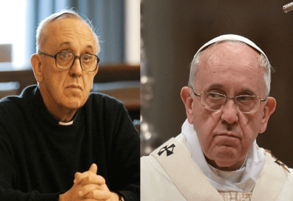 Con seis años de Vaticano, Francisco sigue exorcizando a Bergoglio