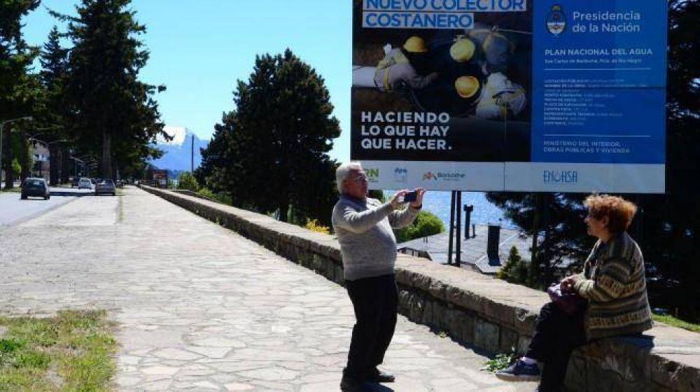 Hay 19 empresas interesadas en el colector costanero de Bariloche