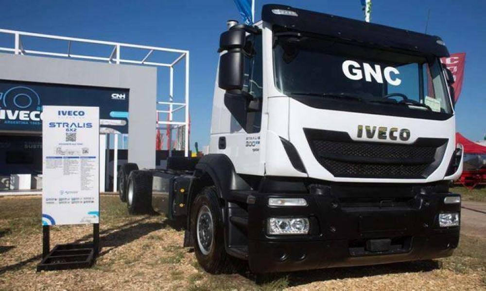 Llegan a la Argentina los primeros camiones Iveco a GNC