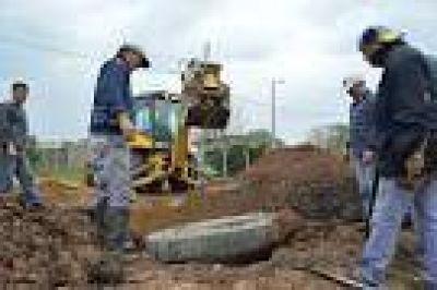 Nuevas obras para dotar de cloacas a los barrios de Concepción