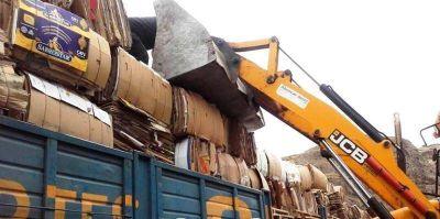 Otros 10 mil kilos de material reciclables partieron de El Chaltén