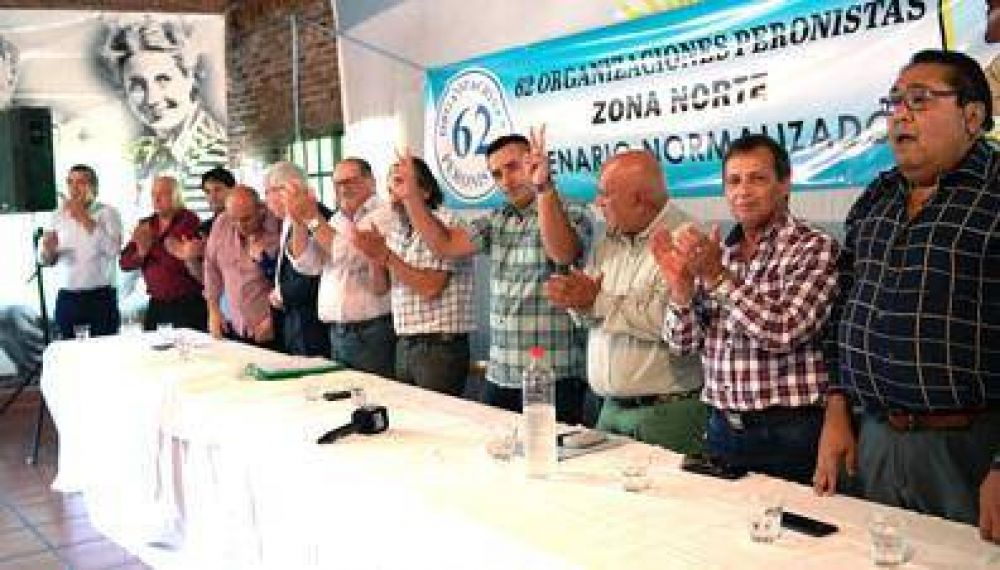 Eligen a Emiliano Gallo al frente de las  62 Organizaciones Peronistas Regional Zona Norte