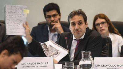 El Gobierno pidió remover de su cargo al juez Alejo Ramos Padilla
