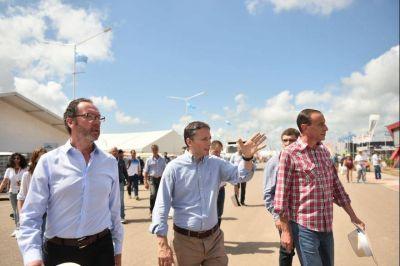 El peronismo bonaerense afina lazos con el campo: Gray e intendentes visitaron la ExpoAgro