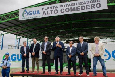 Inauguraron nueva planta potabilizadora para garantizar un mejor servicio de agua