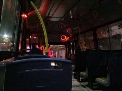 Otra noche sin colectivos en Mar del Plata