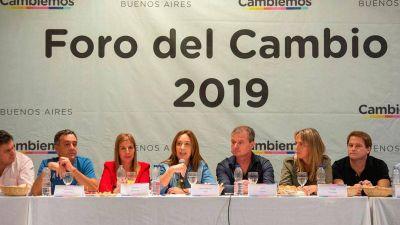 Gonzalo Diez se reunió con Vidal en el Foro del Cambio
