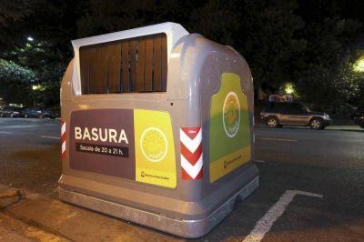 Larreta y un gasto millonario para marcar límites a los contenedores de basura