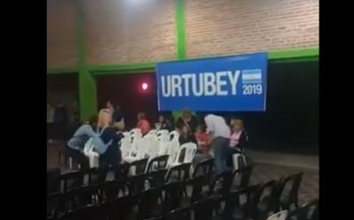 Campaña para pocos: el video viral que muestra el medido entusiasmo que genera Urtubey