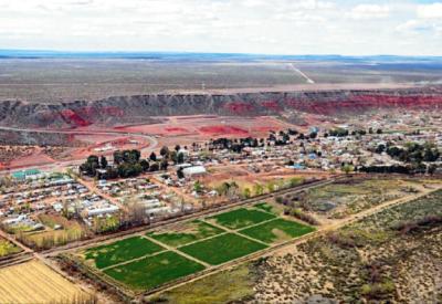 Añelo, capital de Vaca Muerta: el pueblo de la plata dulce