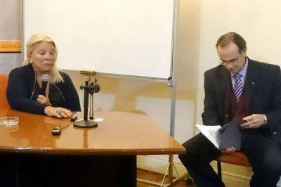 D'Alessio tuvo contactos con militares que Carrió impuso en Aduana