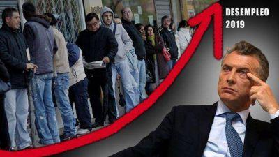 Se perdieron 12.000 empleos en dos meses y Macri ve cómo se acelera la erosión de su imagen