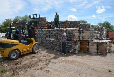 San Luis recuperó más de 260 mil kilogramos de material reciclable