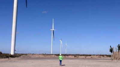 La obra del parque eólico ya entró en la etapa final de ejecución