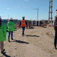 El Parque Eólico de Pomona avanza a buen ritmo