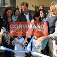 Ariel Sujarchuk inauguró el cuarto jardín de infantes municipal, en Ingeniero Maschwitz