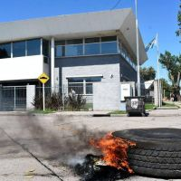 El Consorcio Portuario denunció el bloqueo y rechazó negociar bajo presión