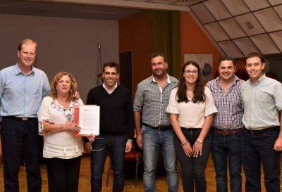López visitó instituciones de La Dulce y mencionó de forma especial a la Biblioteca Pública