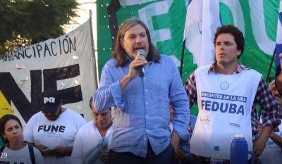 """FEDUN: """"Vamos a defender el salario de los 180.000 docentes universitarios"""""""