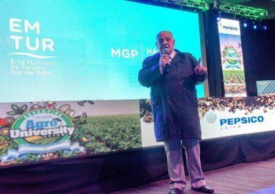 El Intendente Arroyo inauguró el Agro University 2019 de Pepsico