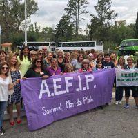 Congreso Nacional de la Mujer Trabajadora organizado por AEFIP