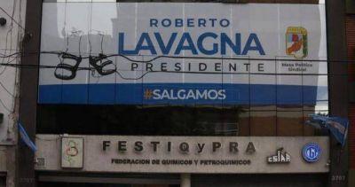 """El barrionuevismo ya puso la primera gigantografía """"Lavagna Presidente"""""""