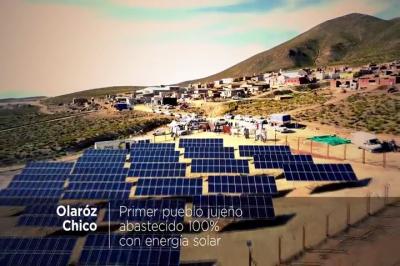 Argentina Jujuy brilla con 9 pueblos 100% energía solar