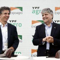 Con exitoso canje de granos, YPF Agro se presentó en sociedad en Expoagro