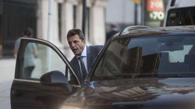 Massa reveló que se habla de compartir boleta de gobernador con Cristina