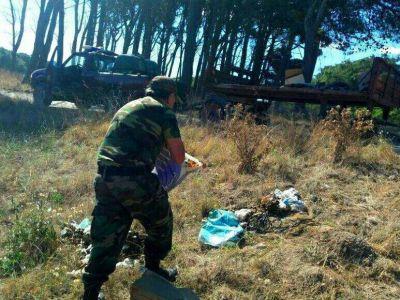 Guardaparques inicia un exhaustivo operativo de limpieza en el Parque Miguel Lillo