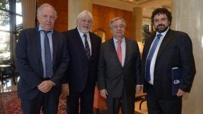 El secretario general de la ONU se reunió con las autoridades del Congreso Judío Latinoamericano