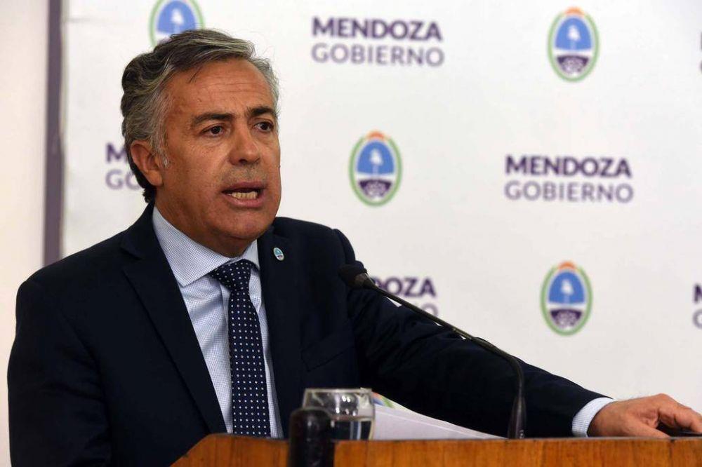 Alfredo Cornejo desiste de la guerra judicial con los intendentes del PJ que buscan la reelección
