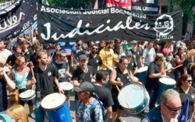 Judiciales bonaerenses exigieron una nueva convocatoria paritaria