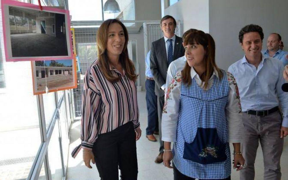 La Gobernadora de la Provincia, María Eugenia Vidal, estuvo presente en la inauguración de un jardín de infantes