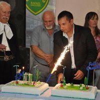 Rafael Obligado festejó su cumpleaños número 134